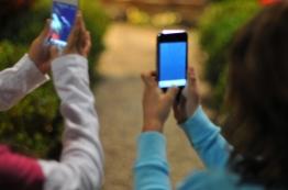 Budding young photographers