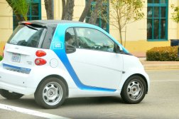 An electric car