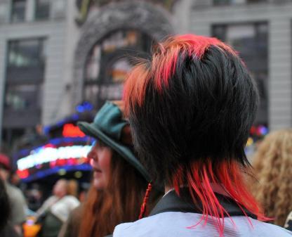 More colourful hair