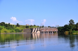 The first dam built, now unused