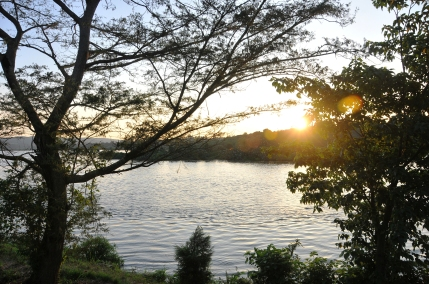 Sunset on the River NIle - December 2012
