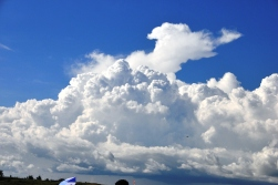 Clouds in Entebbe - December 2012