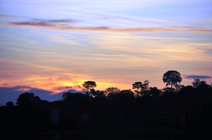 Entebbe Sunset - December 2012