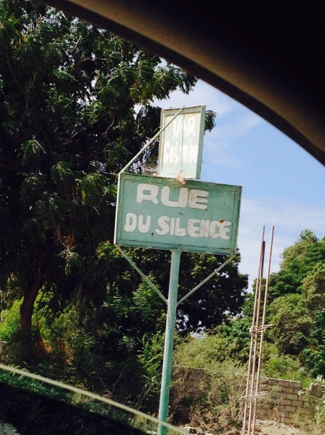 So .. we should be quiet while on this road?