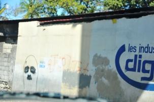 Charlie Chaplain graffiti